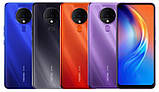 Смартфон Tecno Spark 6 (KE7) 4/128GB Dual Sim Ocean Blue, фото 3