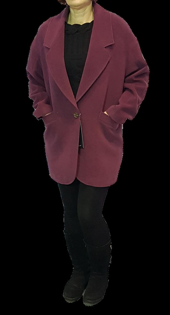 Пальто жіноче кашемірове 10234