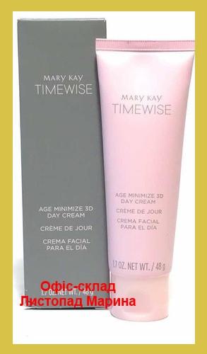 Дневной крем TimeWise Age Minimize 3D Для Комбинированной / жирной кожи 48 г Mary Kay