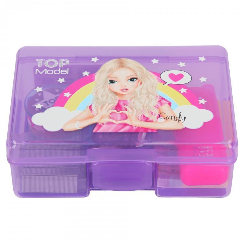 TOP Model Коробочка мини набор канцелярии Candy или Talita (Топ Модел  CANDY CACE  Depesche 7684 )