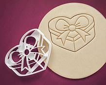 3Д Формочка ко Дню Влюбленных Подарочная коробочка | Вырубка на день святого Валентина | Вырубка для пряников