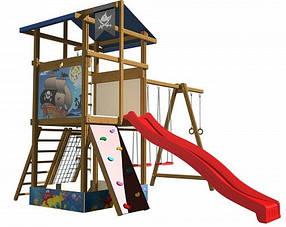Деревянные детские площадки для детей SportBaby-10
