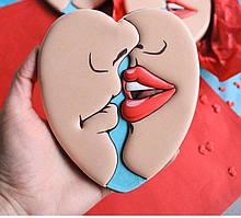3Д Формочка ко Дню Влюбленных Целующаяся пара | Вырубка на день святого Валентина | Вырубка для пряников