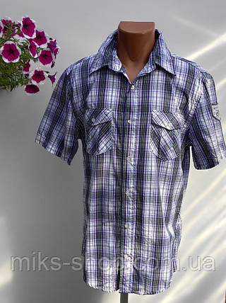Чоловіча сорочка Розмір L ( Я-102), фото 2