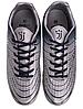 Сороконожки подростковие JUVENTUS р.37 серебряно синий, фото 6
