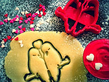 3Д Формочка ко Дню Влюбленных Влюбленные попугаи | Вырубка на день святого Валентина | Вырубка для пряников