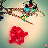 3Д Формочка до Дня Закоханих Закохані папуги | Вирубка на день святого Валентина | Вирубка для пряників, фото 2