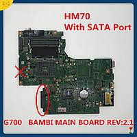 Материнська плата Lenovo IdeaPad G700 (HM70, UMA) BAMBI REV:2.1 S-G2