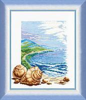 """Набор для вышивки крестиком Чарівна Мить №209 """"Морское спокойствие"""""""