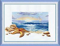 """Набор для вышивки крестиком Чарівна Мить №210 """"Морской рассвет"""""""