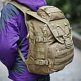 Тактичний рюкзак Silver Knight 9900 MOLLE Койот (9900-coyote), фото 8