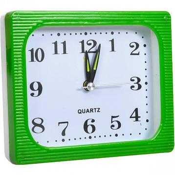 Настільний годинник - будильник 12×10×4 см, фото 2