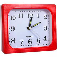 Настільний годинник - будильник 12×10×4 см, фото 3