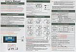 60А 12/24В 60А Контроллер заряда солнечных батарей (модулей) ШИМ (PWM) с Дисплеем + 2USB Контролер заряду, фото 3