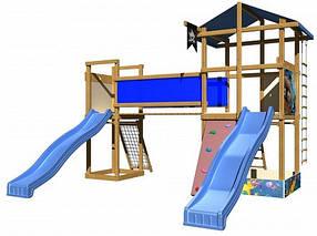 Деревянные детские площадки для детей SportBaby-11