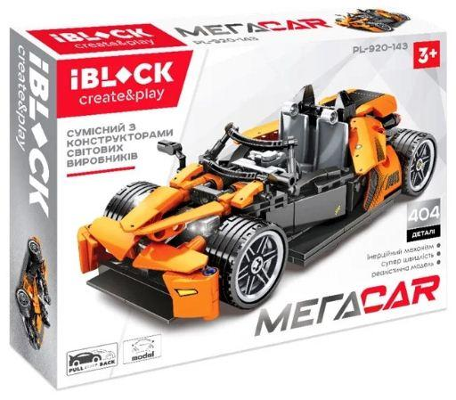 Конструктор IBLOCK PL-920-143 (404дет) МЕГАCAR