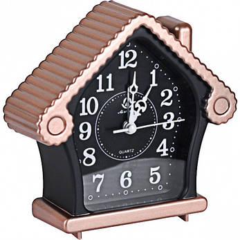 Настільний годинник - будильник «Будиночок» 13,5×13×4,5 см, фото 2