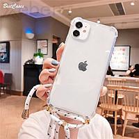 Тренд! Чехол со шнурком для iPhone X / XS