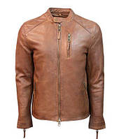 Оригінальна шкіряна куртка Top Gun Men's Leather Racer TG1913 (Cognac)