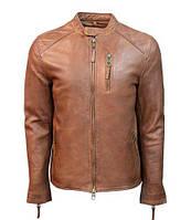 Оригінальна шкіряна куртка Top Gun Men's Leather Racer TG1913 (Cognac), фото 1