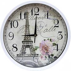 Настінний годинник «Ейфелева вежа» 29,5×4 см, фото 3