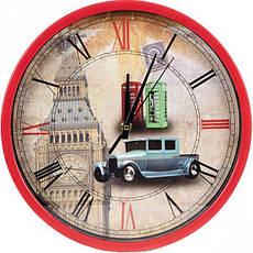 Настінний годинник «Ейфелева вежа» 29,5×4 см, фото 2