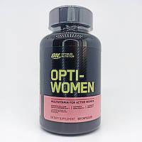 Витамины женские Оригинал США! Optimum Nutrition Opti Women 60 кап.
