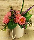 """Подарочное мыло """"Букет розовых роз"""", фото 3"""