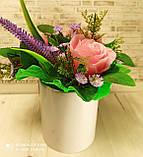 """Подарочное мыло """"Букет розовых роз"""", фото 5"""