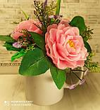 """Подарочное мыло """"Букет розовых роз"""", фото 6"""