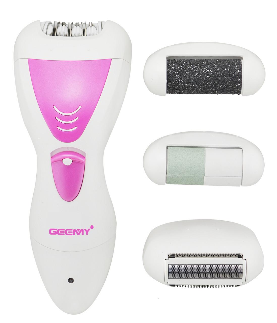 Эпилятор 4 в 1 Geemy GM7006 Pink (4637)