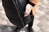 Рюкзак шкіряний BAREL портфель з якісної екошкіра, фото 4