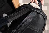 Рюкзак шкіряний BAREL портфель з якісної екошкіра, фото 6