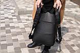 Рюкзак шкіряний BAREL портфель з якісної екошкіра, фото 5