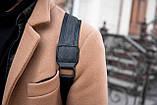 Рюкзак шкіряний BAREL портфель з якісної екошкіра, фото 7