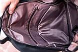Рюкзак шкіряний BAREL портфель з якісної екошкіра, фото 8