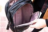Рюкзак шкіряний BAREL портфель з якісної екошкіра, фото 10