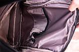 Рюкзак шкіряний BAREL портфель з якісної екошкіра, фото 9