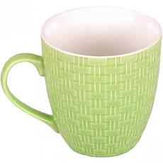 Чашка фаянс «Однотонная плитка» 200 мл, фото 3