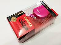 Зарядное устройство сетевое (DL) СЗУ (AAA) Remax + USB кабель iPhone 5/6 (2,1A) (HS-A003) розовый
