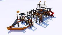 Детский игровой «Мега» комплекс «Корсар» IК-7.08, фото 2