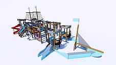 Детский игровой «Мега» комплекс «Корсар» IК-7.08, фото 3