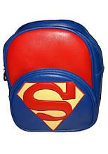 Рюкзак детский синий Супермен
