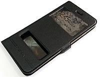 Чехол книжка с окошками momax для iPhone 8 Plus черный