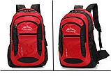 Туристический рюкзак походной вместительный JDXFend спортивный рюкзак КРАСНЫЙ, фото 4