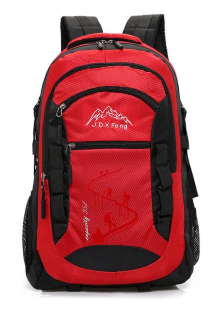 Туристический рюкзак походной вместительный JDXFend спортивный рюкзак КРАСНЫЙ