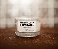 Ароматическая свеча Kristalika Candle white tea & mint leaves