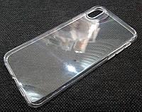 Чехол для iPhone XS Max силиконовый прозрачный