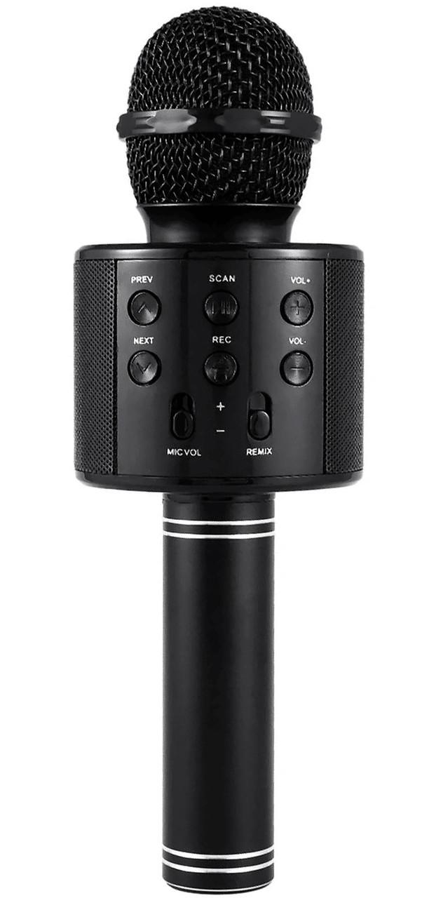 Беспроводной микрофон-караоке WSTER WS-858 Black (12707)