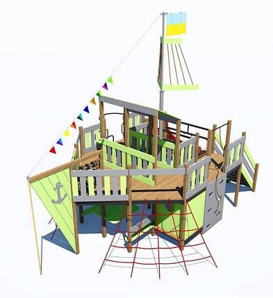 Детский игровой комплекс ПЛАСТ-8 IК-6.80, фото 2